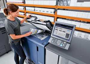 Using a Lanier South West Photocopier with a service contract